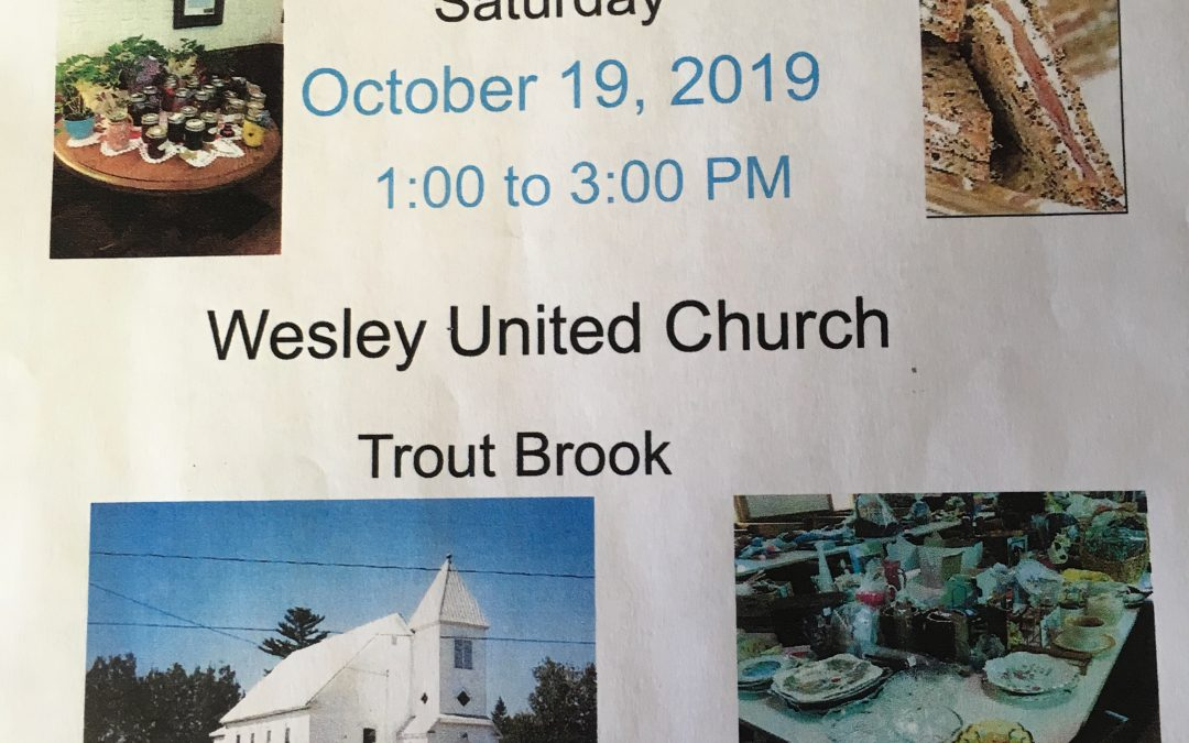 Trout Brook Ladies Aid Fall Sale
